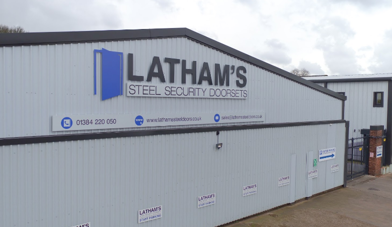 Latham's Steel Security Doors continues to grow with the help of Black Country Growth Hub